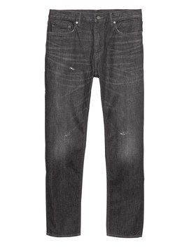 Heritage Athletic Tapered Medium Wash Jean by Banana Repbulic