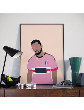 Drake Juventus Poster. More Life Drake Minimal Poster. Print. by Etsy