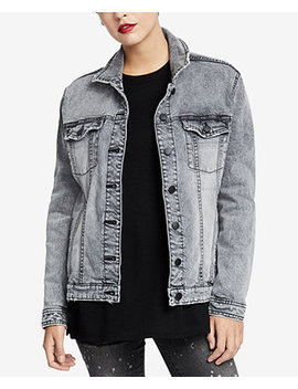 Denim Trucker Jacket, Created For Macy's by Rachel Rachel Roy