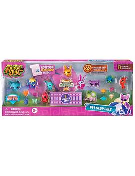 Animal Jam Pet Stop Pals With Exclusive Gold Bunny And 2 Mystery Pets Adopt A Pet Set by Animal Jam