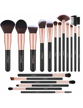 Bestope Makeup Brushes 18 P Cs Makeup Brush Set Premium Synthetic Foundation Powder Kabuki Brushes Concealers Eye Shadows Make Up Brushes Kit by Bestope