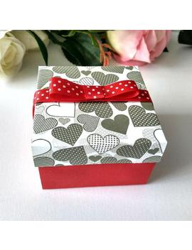 Red  Box With Lids, Valentine's Day  Wedding Favor Box, Packaging Box, Paper Box,  Gift Boxes,  Jewelry Packaging, Small Paper Jewelry Boxes by Etsy