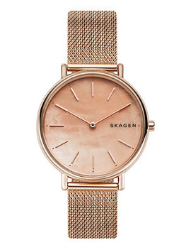 Women's Signatur Rose Gold Tone Stainless Steel Mesh Bracelet Watch 36mm by Skagen