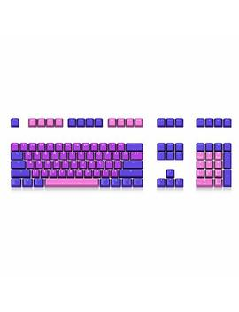 108 Pbt Keycaps Set Senreal Colorful Oem Profile Keycaps Kit With Close Fonts Design For Mx Mechanical Keyboard  Queen by Senreal