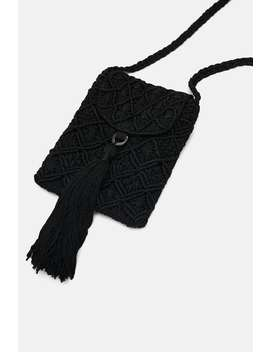 Fabric Crossbody Phone Case  View All Bags Woman Sale by Zara