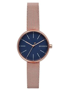 Round Mesh Strap Watch, 30mm by Skagen