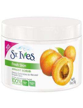 St. Ives Fresh Skin Exfoliating Apricot Scrub, 283ml, 10 Fl.Oz. (Pack Of 3) by St. Ives