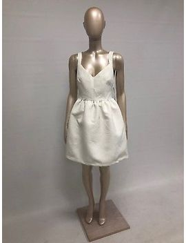 Zara White Party Dress Size M Unworn New With Tags by Ebay Seller