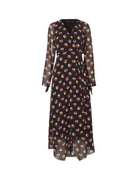 Colour Pop Wrap Midi Dress by  Karen Millen