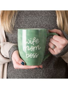 Wife Mom Boss 20oz Mug by Pier1 Imports
