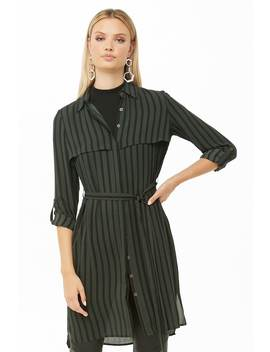 Robe Chemise à Rayures by Forever 21