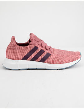 Adidas Swift Run Trace Maroon & Red Night Womens Shoes by Adidas