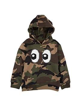 """Kids' """"All Eyez On Me"""" Camouflage Cotton Hoodie by Mostly Heard Rarely Seen 8 Bit"""