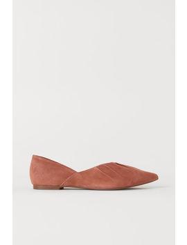 Ballerinasko I Ruskind by H&M