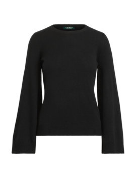 Wool Blend Bell Sleeve Sweater by Ralph Lauren