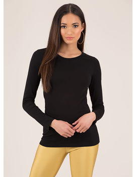 Basic Training Long Sleeved Top by Go Jane