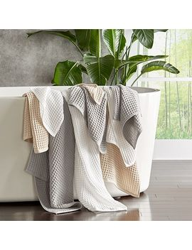 Air Waffle Towel Collection by Uchino