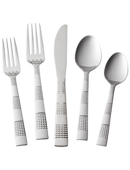 Circa Silverware Set 20 Pc. Stainless Steel   Room Essentials™ by Room Essentials