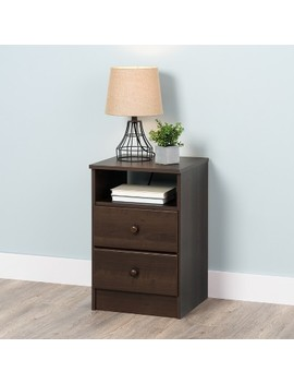 Astrid 2 Drawer Nightstand   Prepac by Prepac