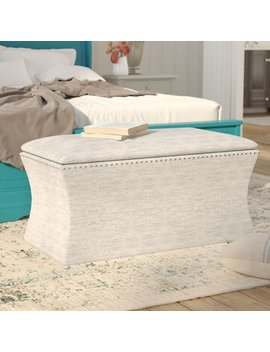 Lark Manor Pegasi Upholstered Storage Bench & Reviews by Lark Manor