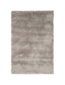 Olivia Gray Faux Sheepskin 2.5'x4' Rug by Pier1 Imports