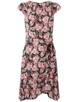 **Billie & Blossom Pink Ditsy Print Ruffle Skater Dress by Dorothy Perkins