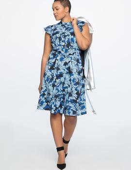 Shirtdress With Ruffles by Eloquii