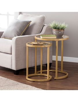 Victoria Gold Nesting Tables by Pier1 Imports