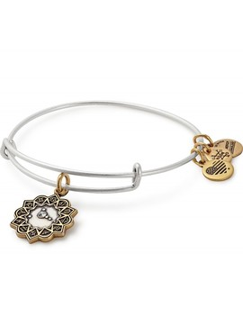 Cancer Two Tone Charm Bangle by Alex And Ani