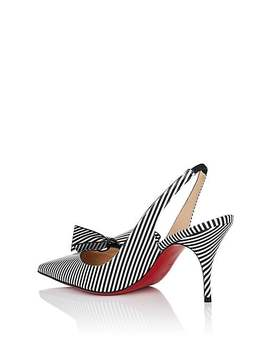 Clare Patent Leather Slingback Pumps by Christian Louboutin