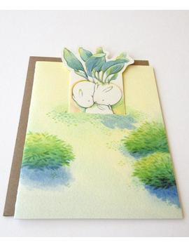"Thank You Card   ""Rabbish Bunch""   Pop Up Card by Etsy"