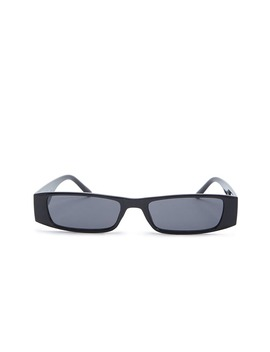 Slim Rectangle Sunglasses by Forever 21
