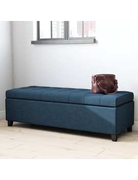Ivy Bronx Ledger Tufted Storage Ottoman & Reviews by Ivy Bronx