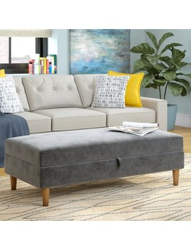 Mistana Cordell Storage Ottoman & Reviews by Mistana
