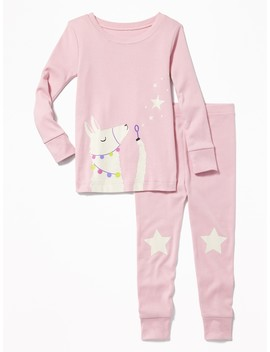Llama Sleep Set For Toddler &Amp; Baby by Old Navy