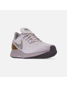 Women's Nike Air Zoom Pegasus 35 Premium Metallic Running Shoes by Nike