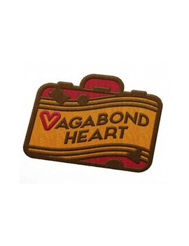 Vagabond Heart Logo Travel Patch by Etsy