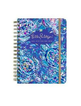 2018 2019 Lilly Pulitzer Large Agenda Party Wave Turtle Spiral Journal Planner L by Lilly Pulitzer