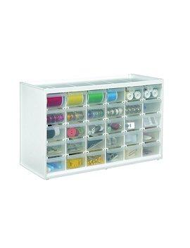 Art Bin Store In Drawer Cabinet, 30 Art And Craft Supply Storage Drawers, 6830 Pc by Art Bin