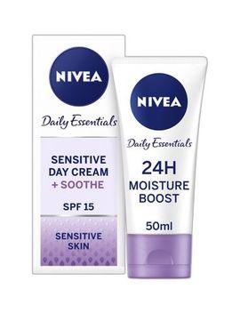 Nivea Face Cream For Sensitive Skin, 50ml by Nivea