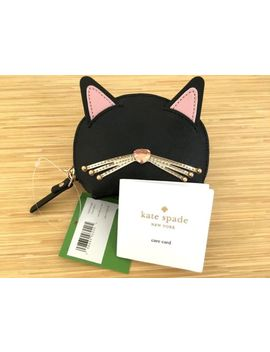 100 Percents Authentic Kate Spade Jazz Things Up Cat Meow Keyfob Coin Purse Wallet by Kate Spade
