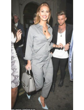 New Zara Button Neck Grey Jumpsuit Overall Dungaree Celebrities Ref.7869/776 by Zara
