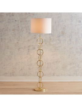 Golden Rings Metal Floor Lamp by Pier1 Imports