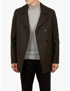 Ted Baker Anton Peacoat, Khaki by Ted Baker