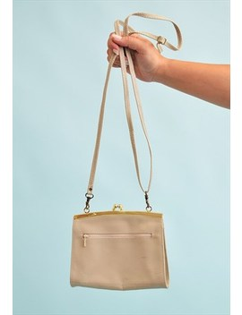 Vintage 80's Retro Leather Petite Mini Shoulder Bag by Vintaholic