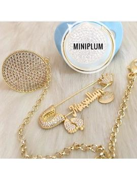 Muslim Baby Gift, Ayatul Kursi Custom Personalized Stroller Pin, Baby Gift, Eid Gift, Masallah Baby Pin, Allah Stroller Pin, Bling Chain by Etsy
