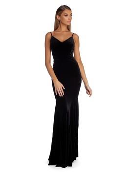 Lyanna Formal Velvet Mermaid Dress by Windsor