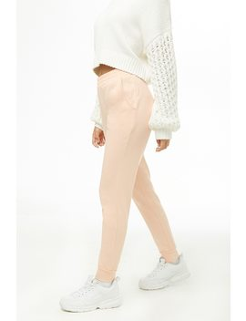 Pocket Fleece Joggers by Forever 21