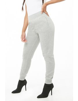 Fleece Pull On Sweatpants by Forever 21