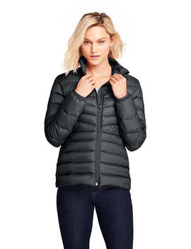 Women's Ultralight Down Puffer Jacket Packable by Lands' End